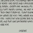 Valerie's Letter